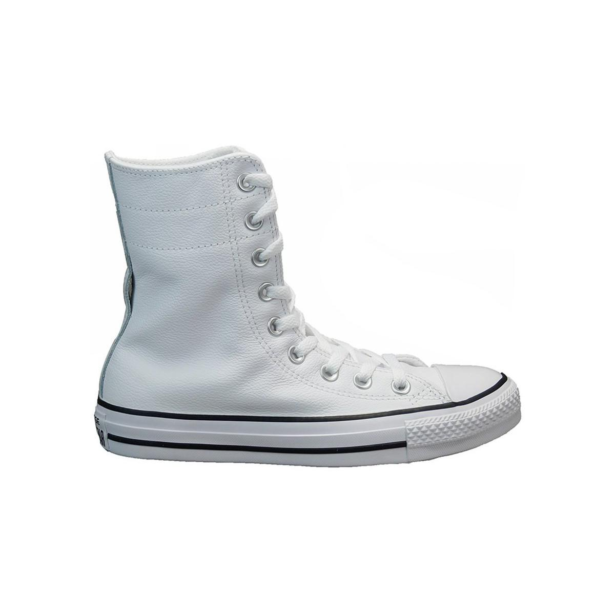 22fe2793404 Converse Ct Hirise Xhi Men's Shoes (high-top Trainers) In White in ...
