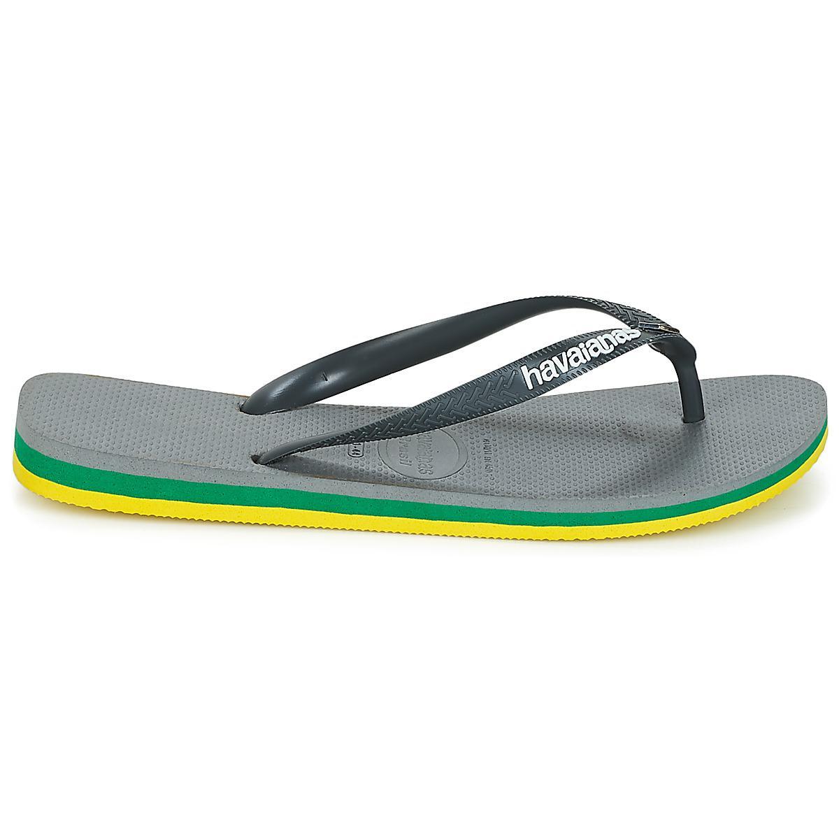 f145a91d9b33 Havaianas Brasil Layers Men s Flip Flops   Sandals (shoes) In Grey ...