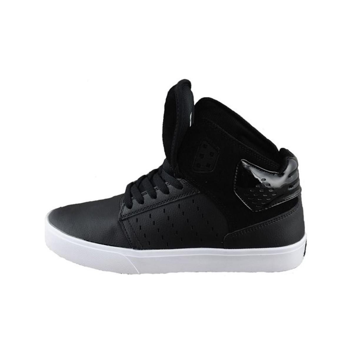 Supra. Atom Men\u0027s Shoes (high-top Trainers) In Black
