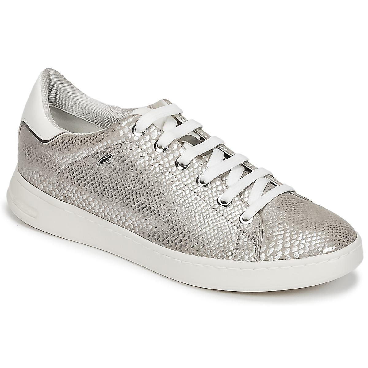Shoes Jaysen A In Lyst Metallic trainers Geox D qft1x7W