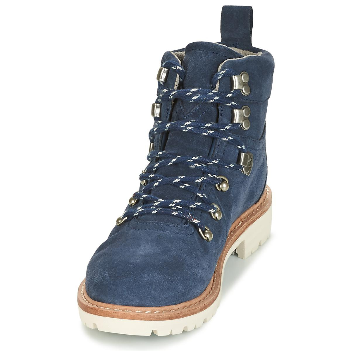 152a1b0e53c TOMS Summit Women s Mid Boots In Blue in Blue - Save 43% - Lyst