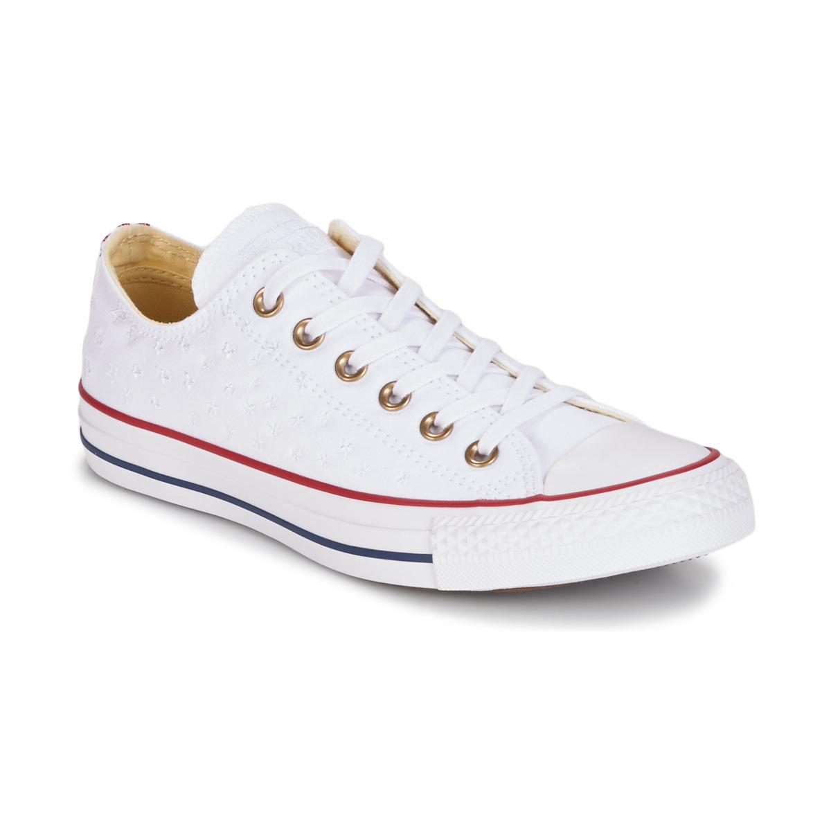 Chuck Taylor All Star 70 Ox TEXTILE PREP EMBROIDERY - FOOTWEAR - Low-tops & sneakers Converse NauRW4akC8