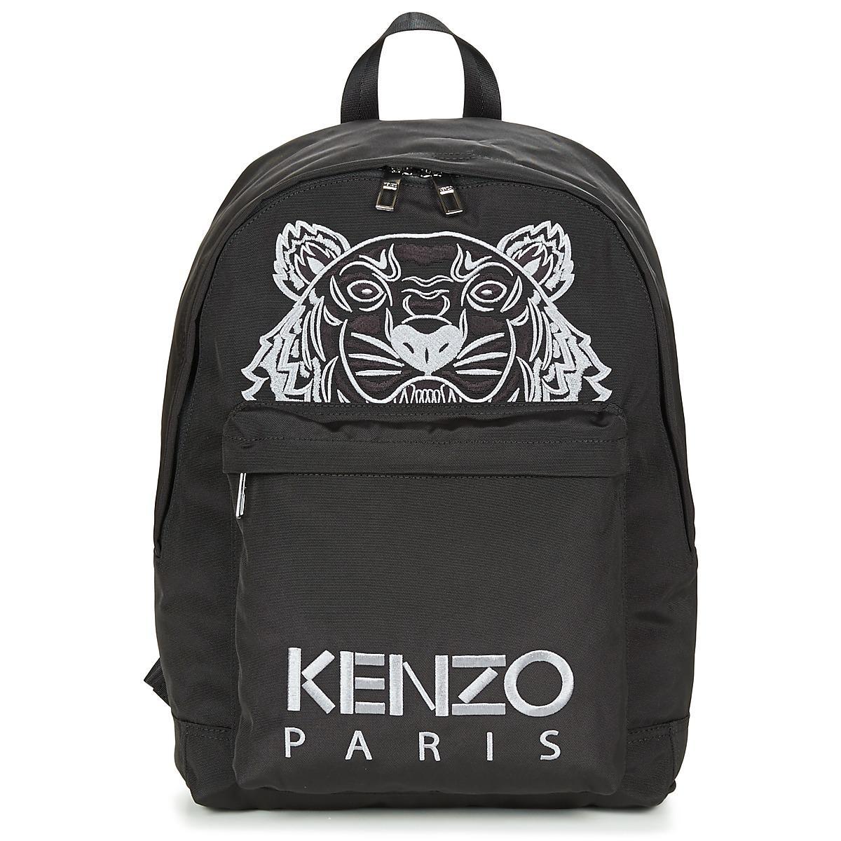 b764f32f24 KENZO - Icon Rucksack Women s Backpack In Black for Men - Lyst. View  fullscreen