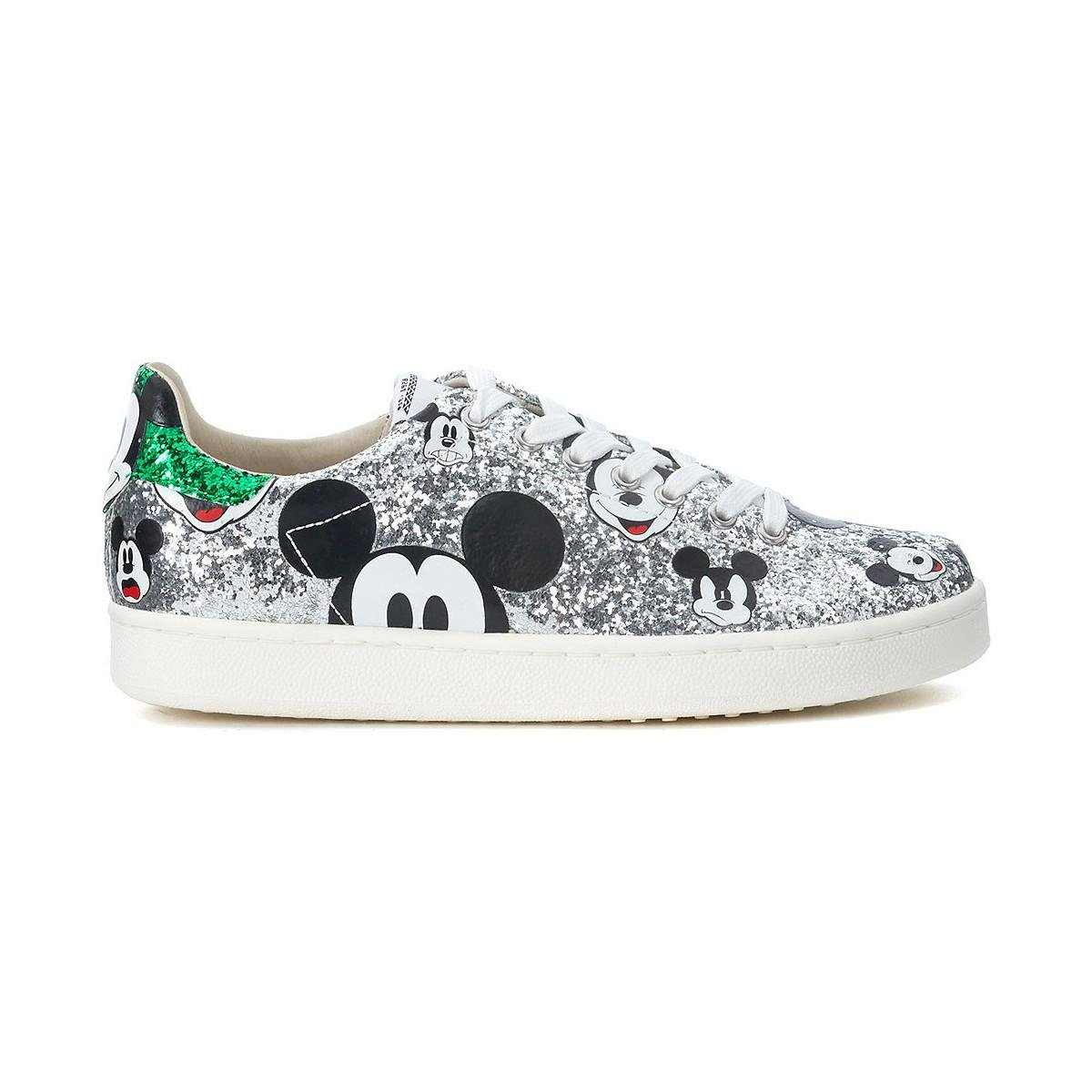 Clearance Online Ebay Get Online MOA MASTER OF ARTS Sneaker MoA Micky Mouse in glitter argento women's Shoes (Trainers) in Online Cheap JEq61