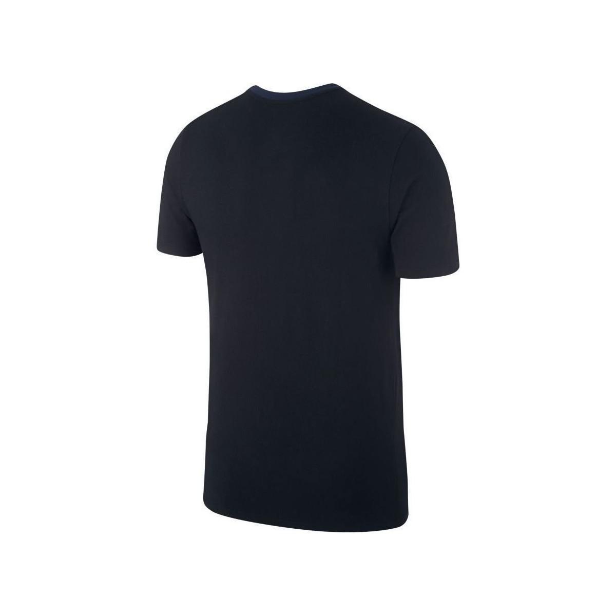 2cea9705 Nike 2018-2019 Croatia Crest Tee Women's T Shirt In Black in Black ...