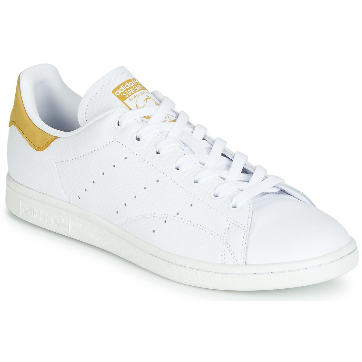 c860a878a398d6 adidas Stan Smith Women s Shoes (trainers) In White in White - Lyst