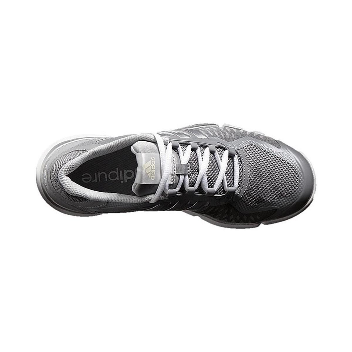 premium selection fef2e 04f5c Adidas - Metallic Adipure 360 Control Womens Running Trainers In Silver -  Lyst. View fullscreen