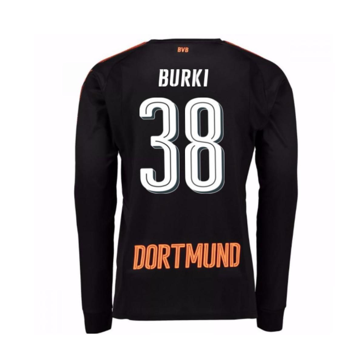 8d667f06c8b PUMA 2017-18 Borussia Dortmund Home Goalkeeper Shirt (burki 38 ...