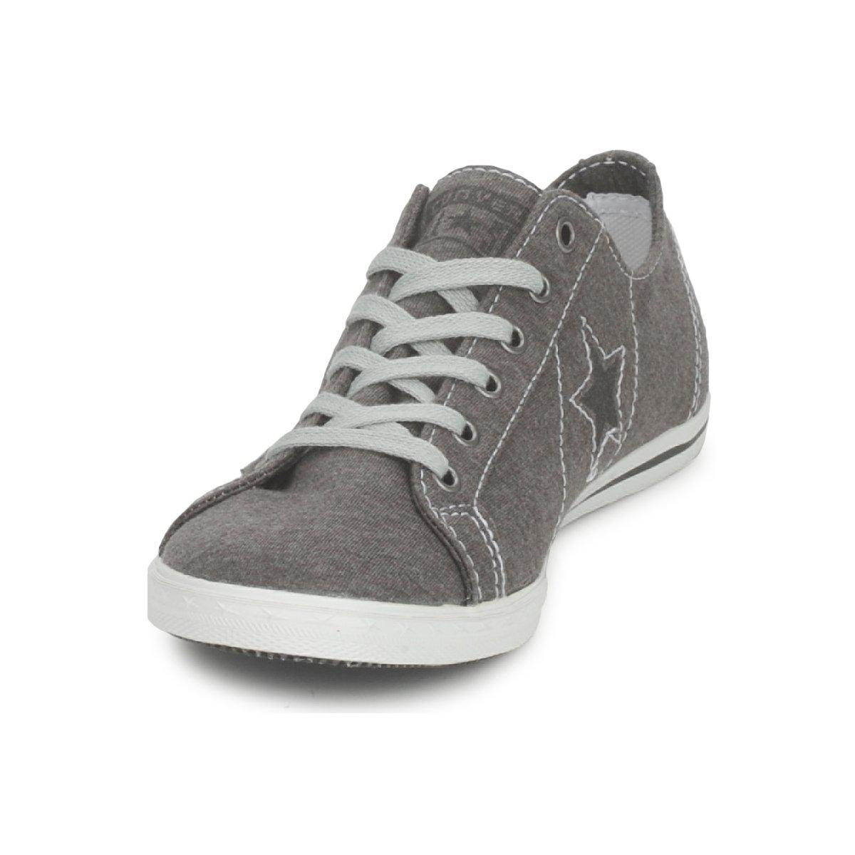 3f5a631bd806ec Converse One Star Low Profile Jersey Ox Shoes (trainers) in Gray - Lyst