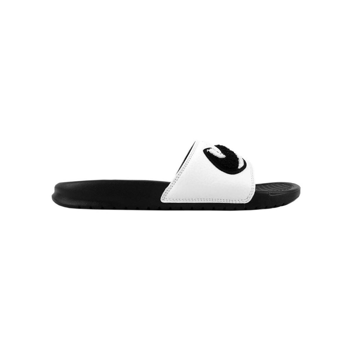 2aa4faacba64 Nike Benassi Just Do It Men s In Multicolour in Black for Men - Lyst