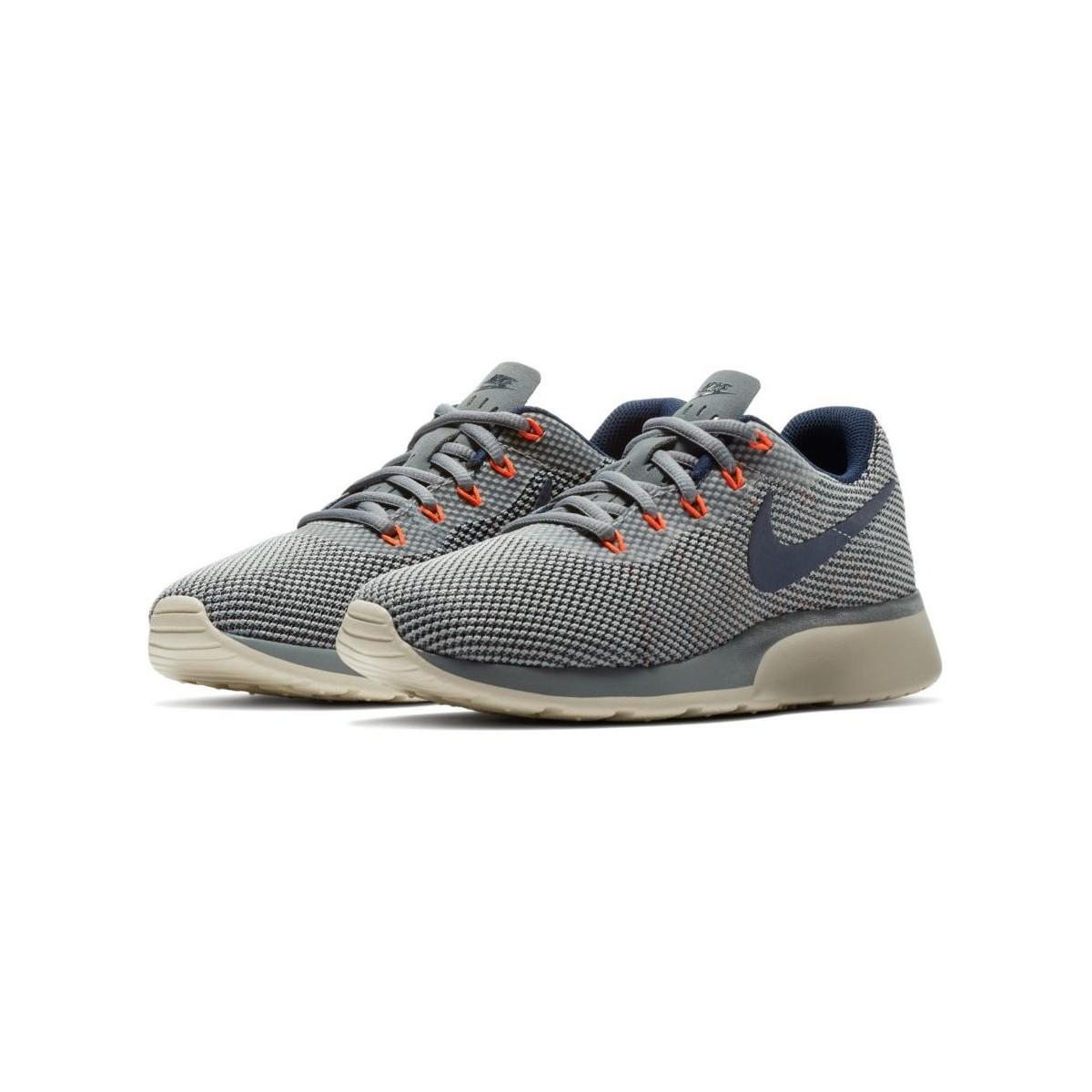 ... coupon nike gray tanjun racer womens shoes trainers in grey lyst. view  fullscreen 47ae4 1cd3d ... 278b045d2