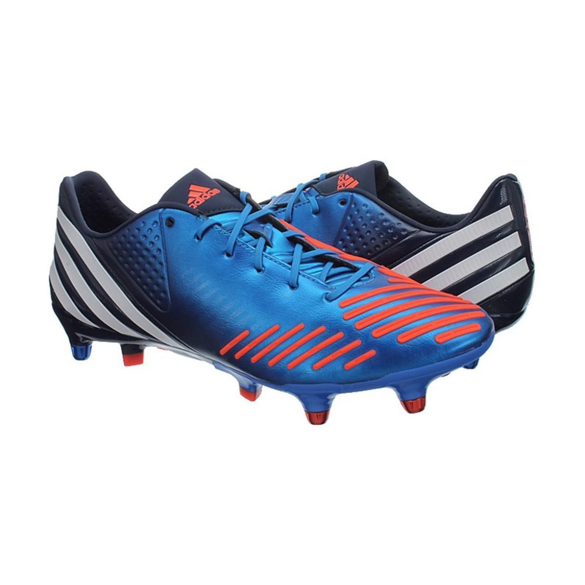 Adidas Predator LZ xtrx SG hombre botas de fútbol en azul en azul para