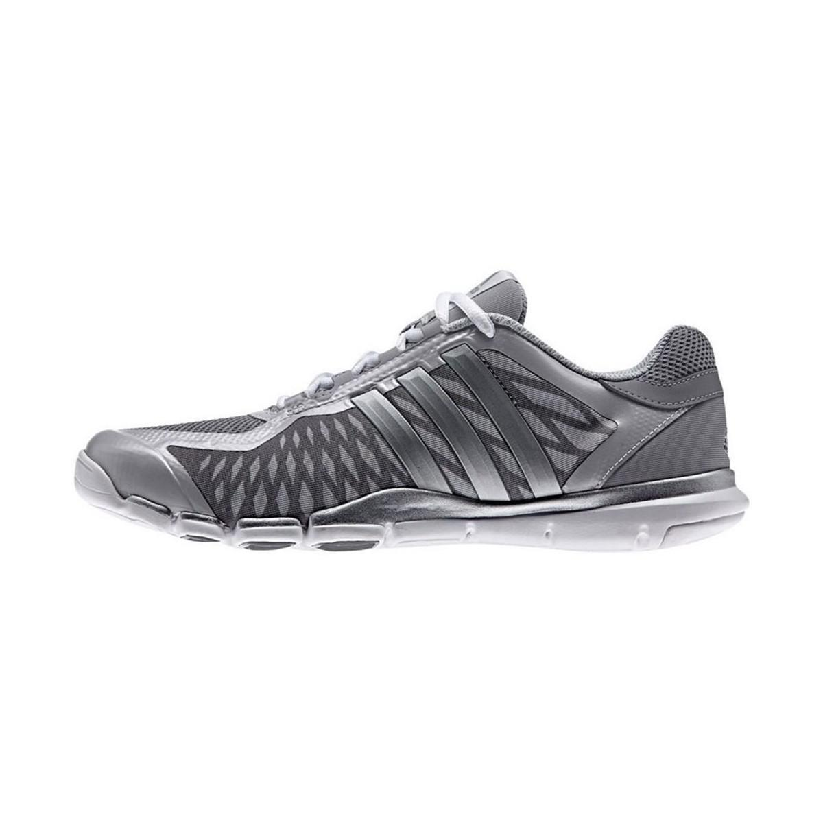 d0ad6ec0657 Adidas Adipure 360 Control Women s Running Trainers In Silver in ...