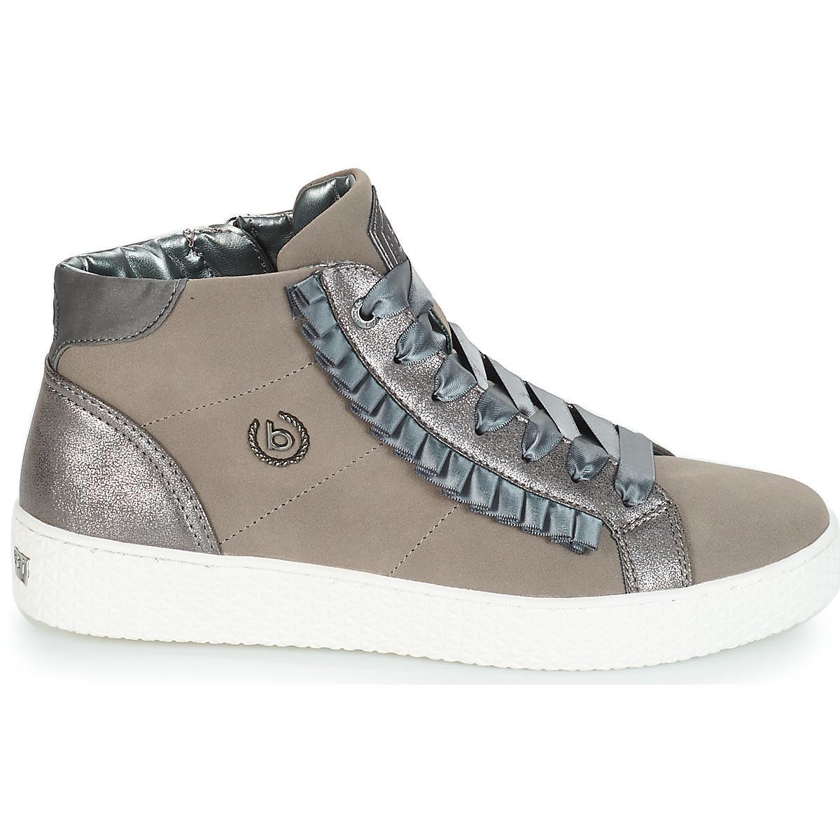 Bugatti Peeji Shoes (high-top Trainers) in Gray - Lyst 839d3c28cf