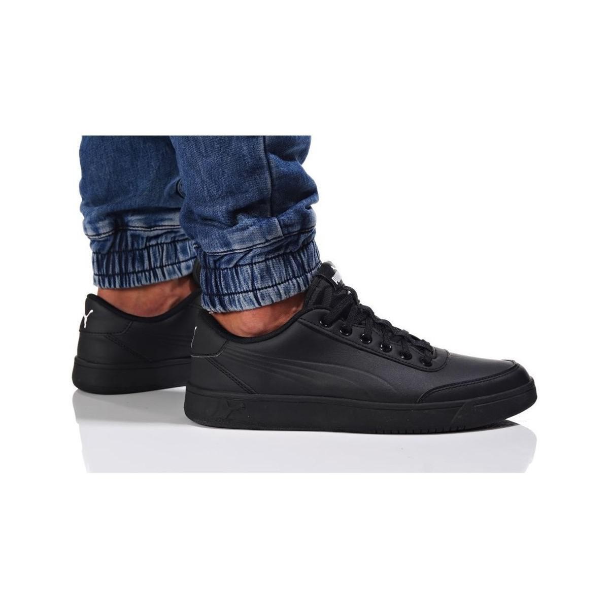 Lyst Puma Court Breaker L Mono Men S Shoes Trainers In