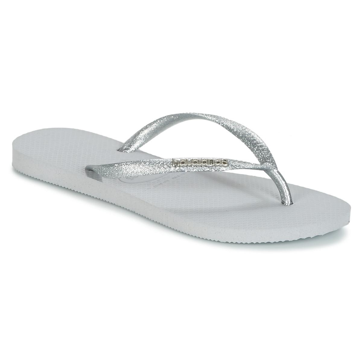 be40eae254a653 Havaianas Slim Logo Metallic Women s Flip Flops   Sandals (shoes) In ...