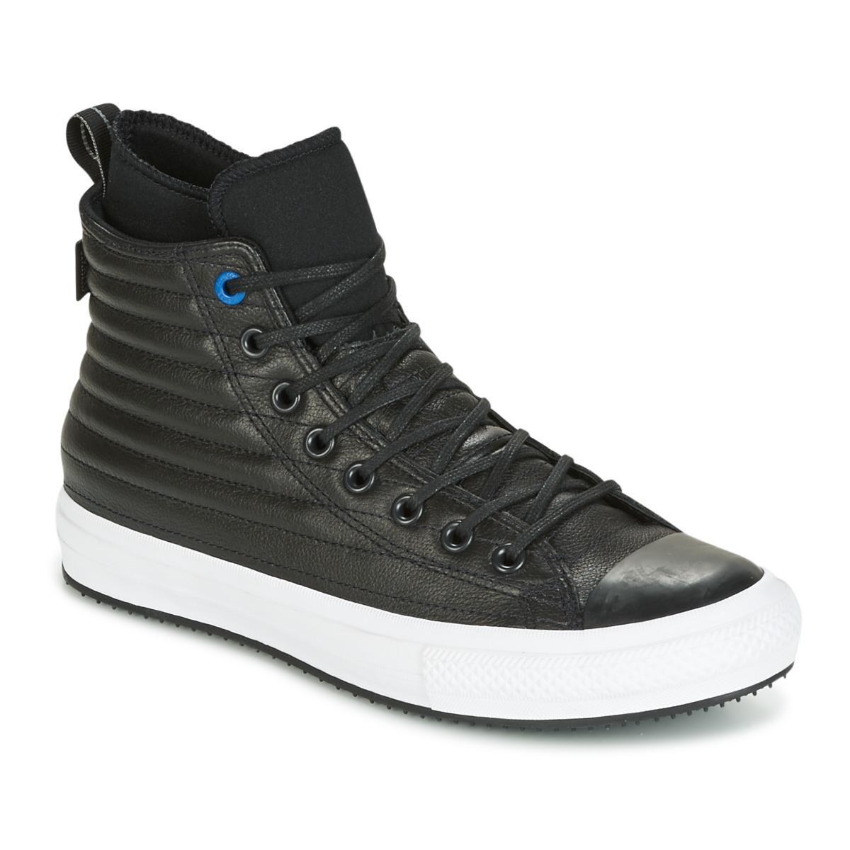 Converse - Chuck Taylor Wp Boot Quilted Leather Hi Black blue Jay white  Shoes. View fullscreen 8f8233fa9