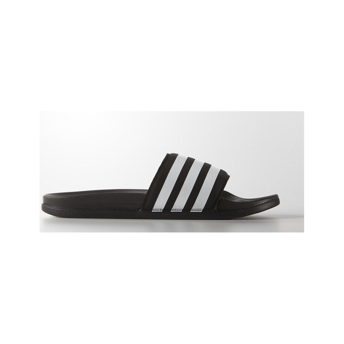 e037ecdee38dc Adidas Adilette Supercloud Plus Men s Mules   Casual Shoes In Black ...