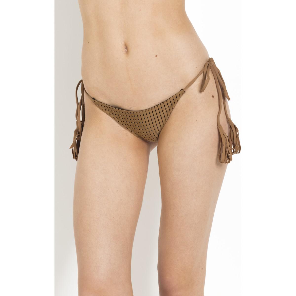 a4ae1660569a8 Acacia Swimwear - Bikini Bottom Braided Sides Acacia Beach Babe - Polihale  Women s In Brown for. View fullscreen