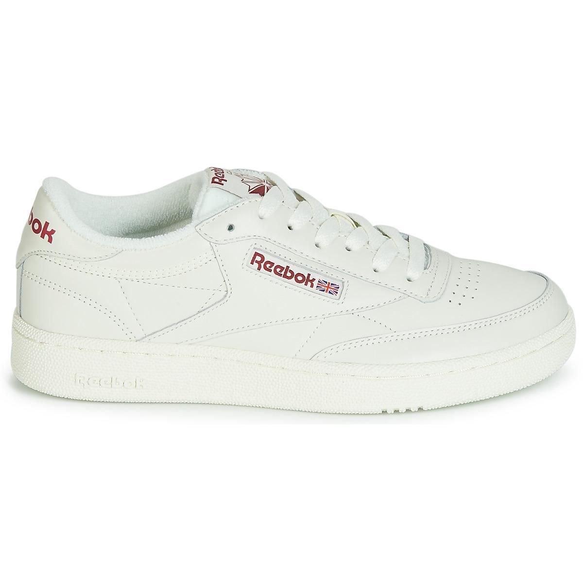 8716427245c Reebok - Natural Club C 85 Mu Men s Shoes (trainers) In Beige for Men. View  fullscreen