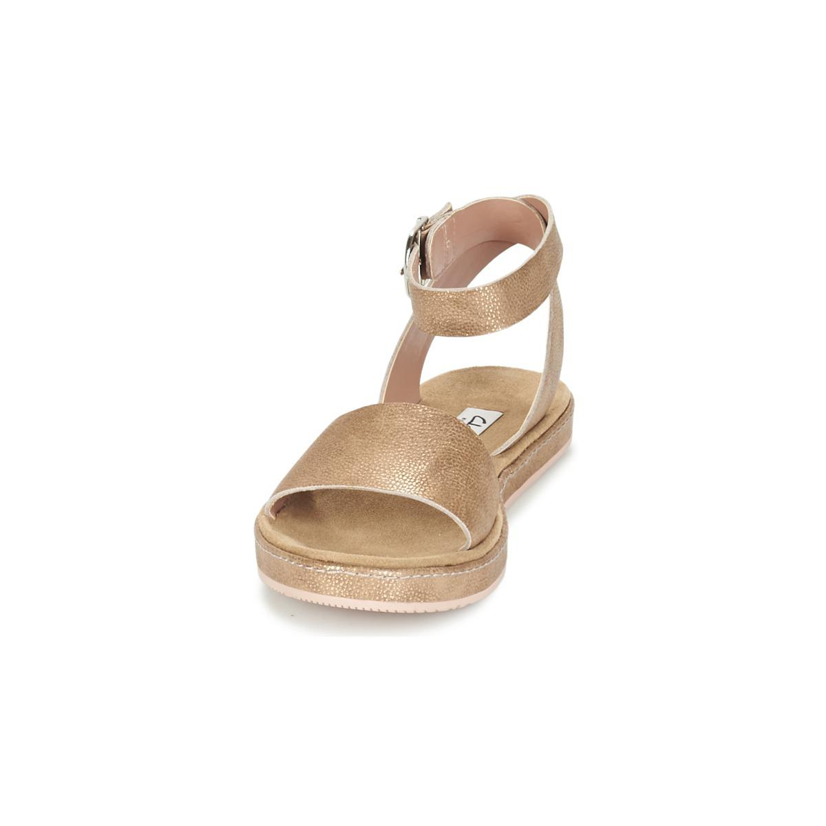 6641a8c33 Clarks Romantic Moon Women s Sandals In Gold in Metallic - Lyst