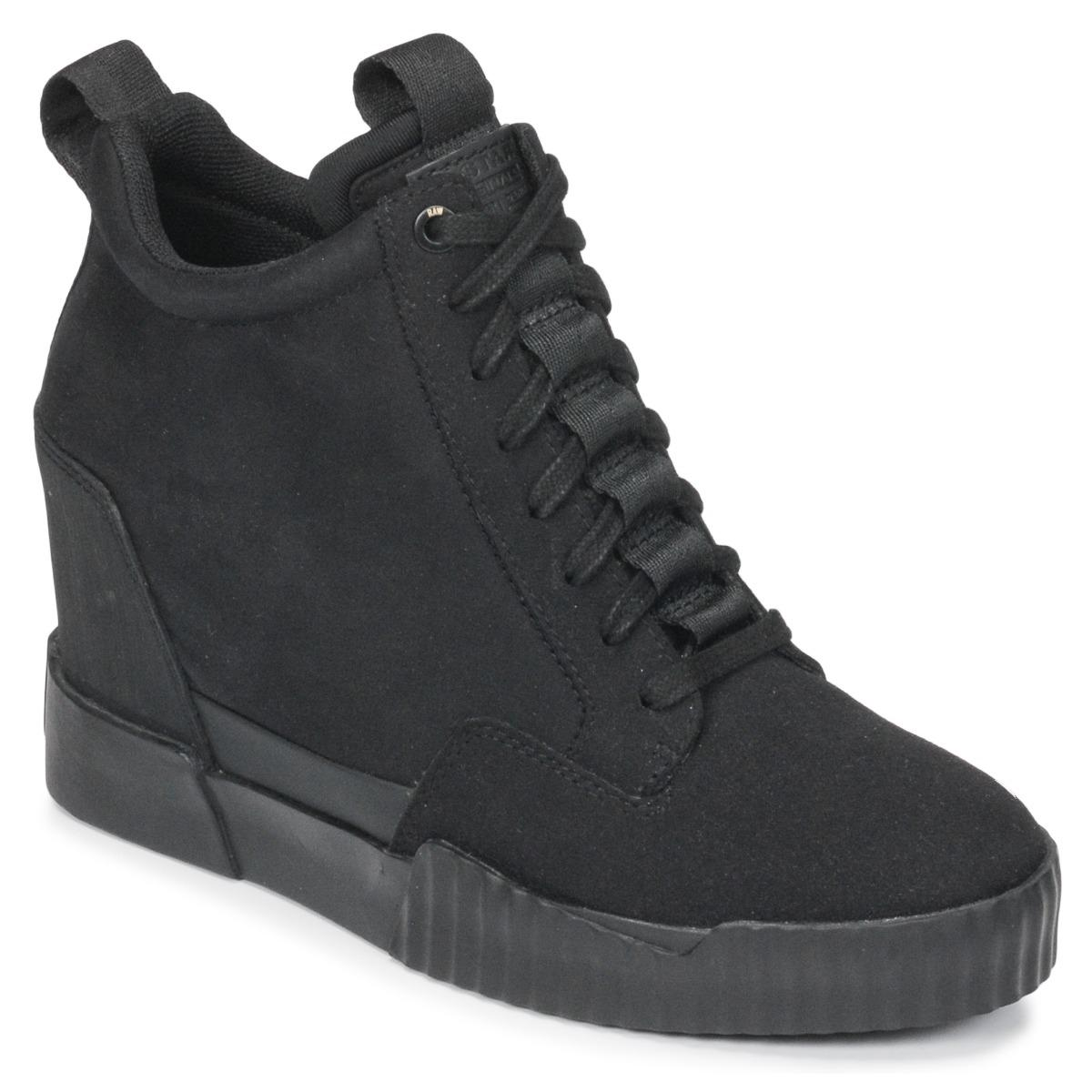 9655d93f2fb4 G-Star RAW Rackam Core Wedge Women s Shoes (high-top Trainers) In ...