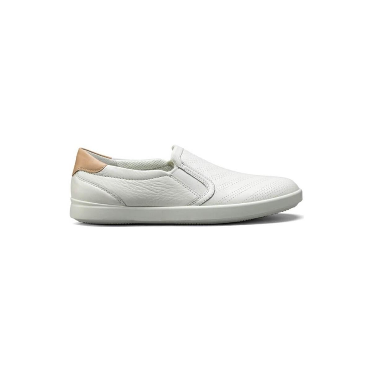 97919796 Ecco Leisure Women's Slip-ons (shoes) In White in White - Lyst
