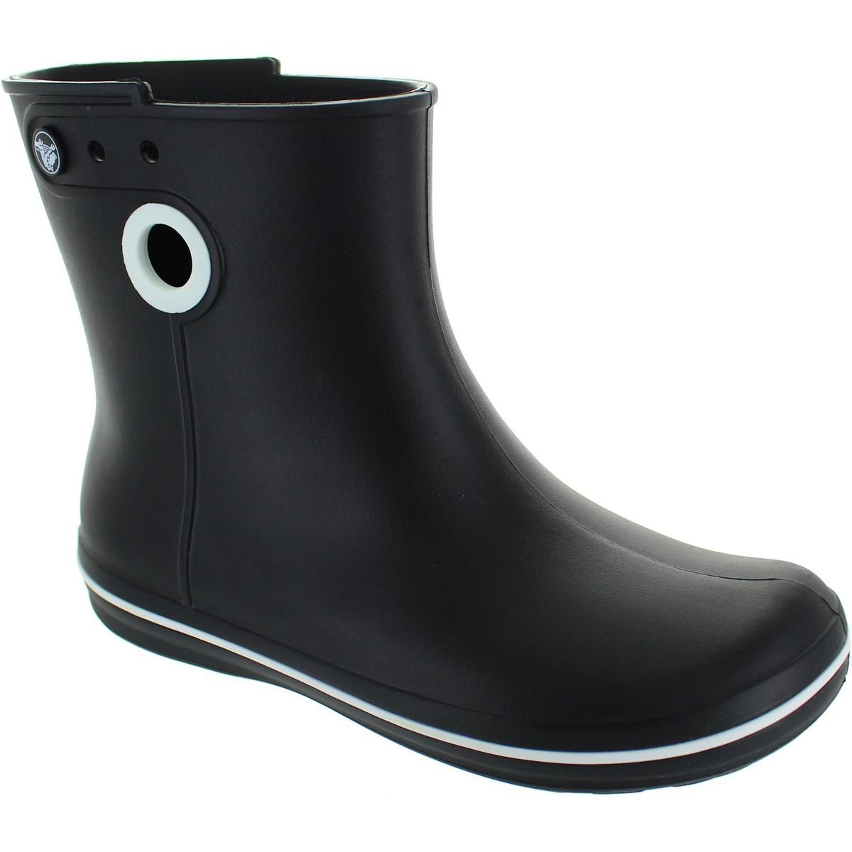 d85ad30d0 Crocs™ Jaunt Shorty Boot Women s Wellington Boots In Black in Black ...