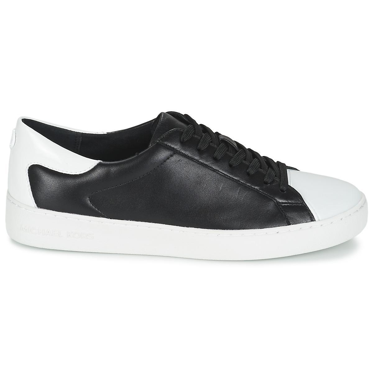 2054dfdb40c37 MICHAEL Michael Kors - Frankie Sneaker Women's Shoes (trainers) In Black -  Lyst. View fullscreen