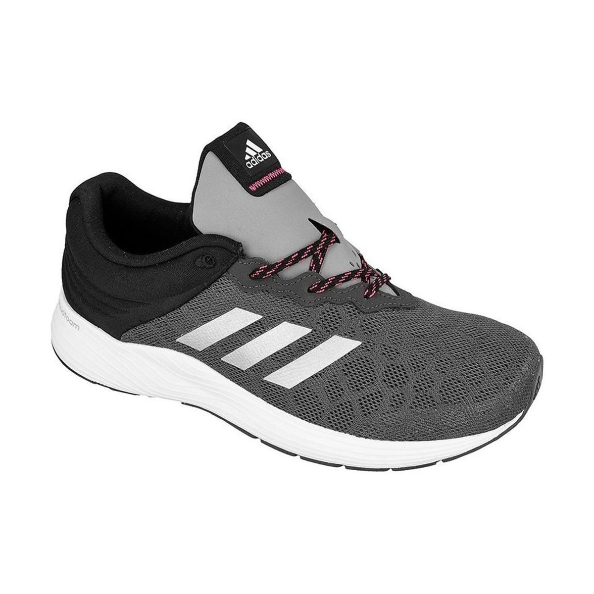 best sneakers 988d0 277f8 adidas Fluid Cloud W Womens Running Trainers In Black in Bla