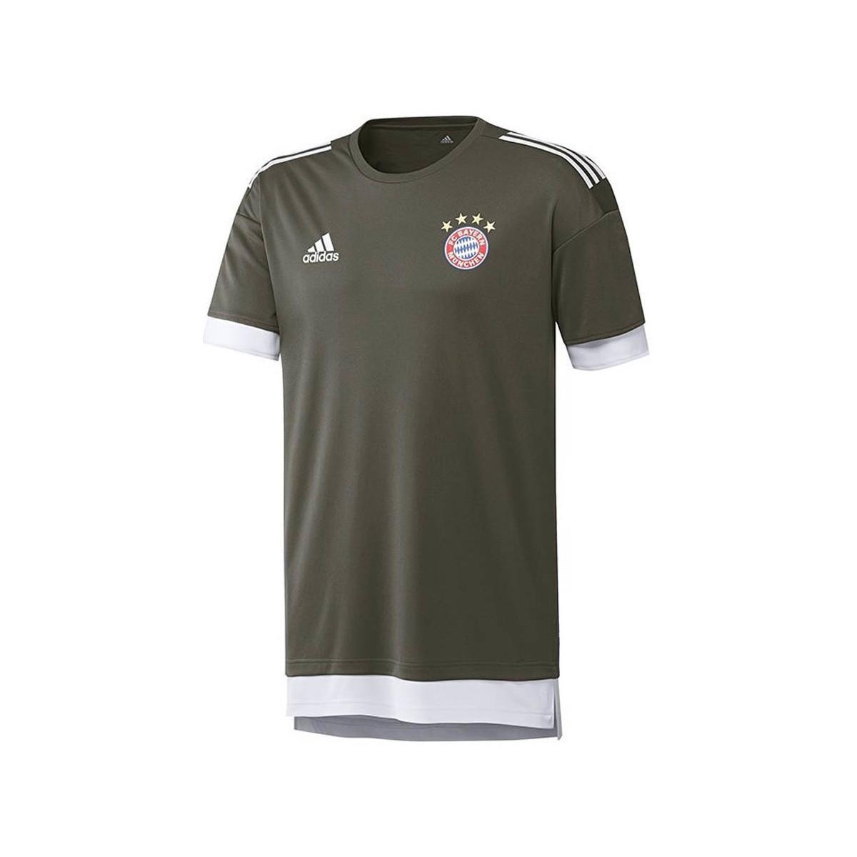 783c23ceb87e Adidas 2017-2018 Bayern Munich Ucl Training Shirt (cinder) Men's T ...