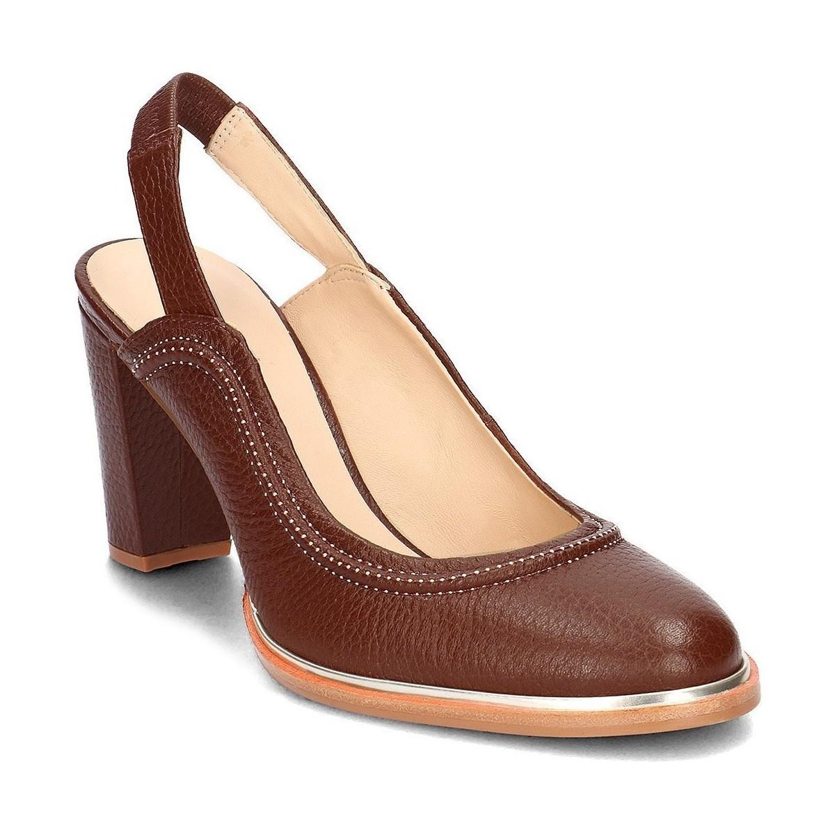 eef952f27fe9 Lyst - Ellis Ivy femmes Chaussures escarpins en Marron Clarks en ...