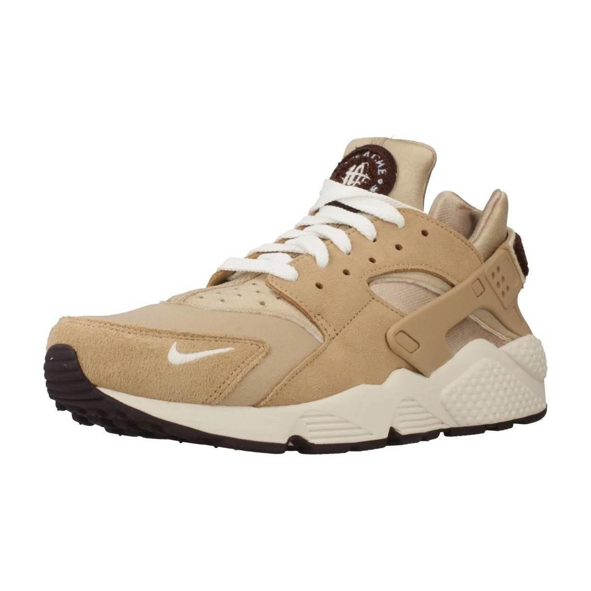 6cf6a7dc1e3 Nike Air Huarache Run Prm Men s Shoes (trainers) In Beige in Natural ...