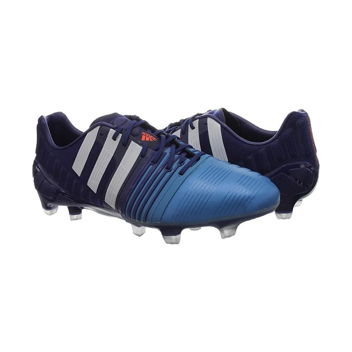 finest selection 1c187 19f6b ... cheapest adidas nitrocharge 10 fg mens football boots in white for men  lyst. view fullscreen