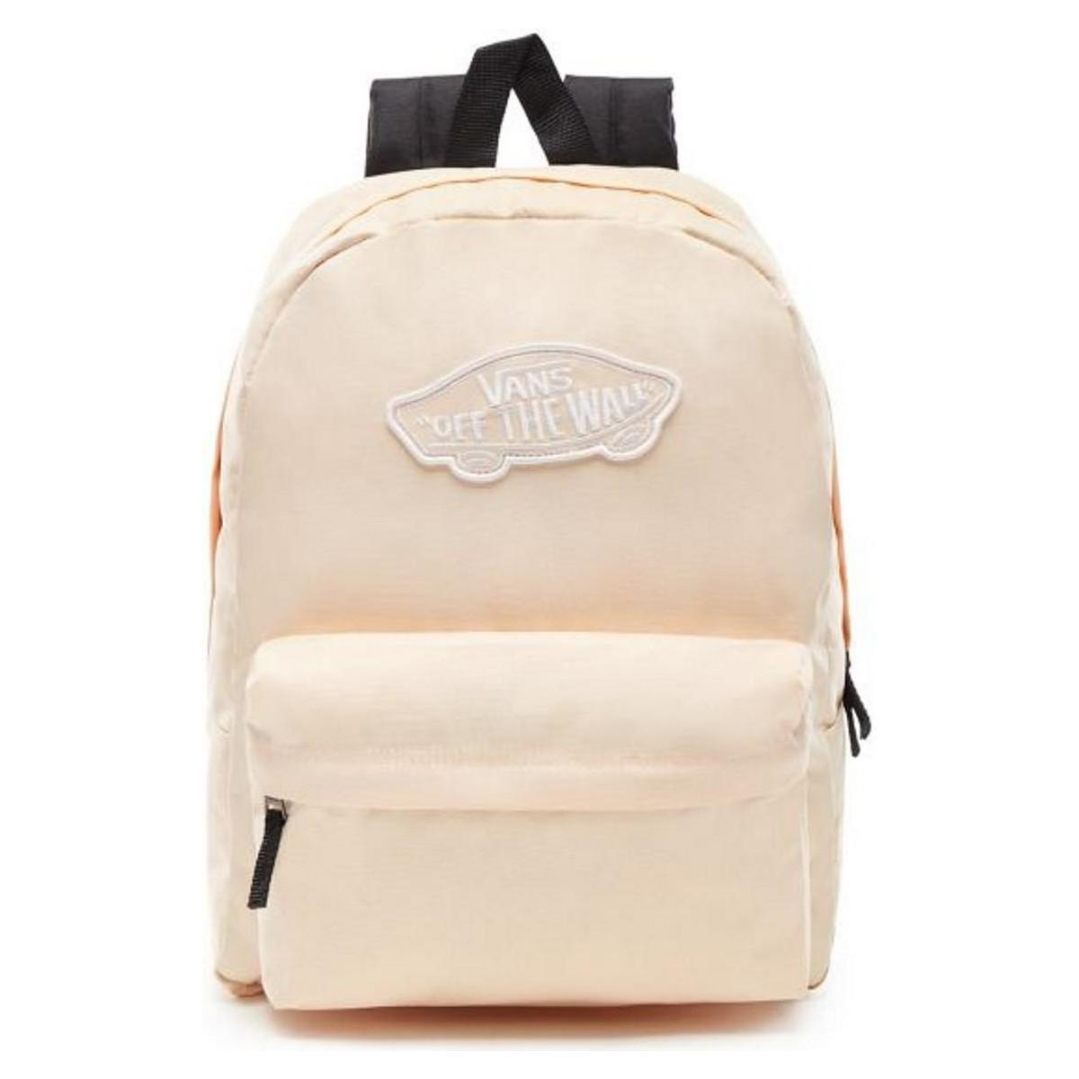 18acb679d1 Vans Realm Backpack - Bleached Apricot Women s Backpack In Other - Lyst