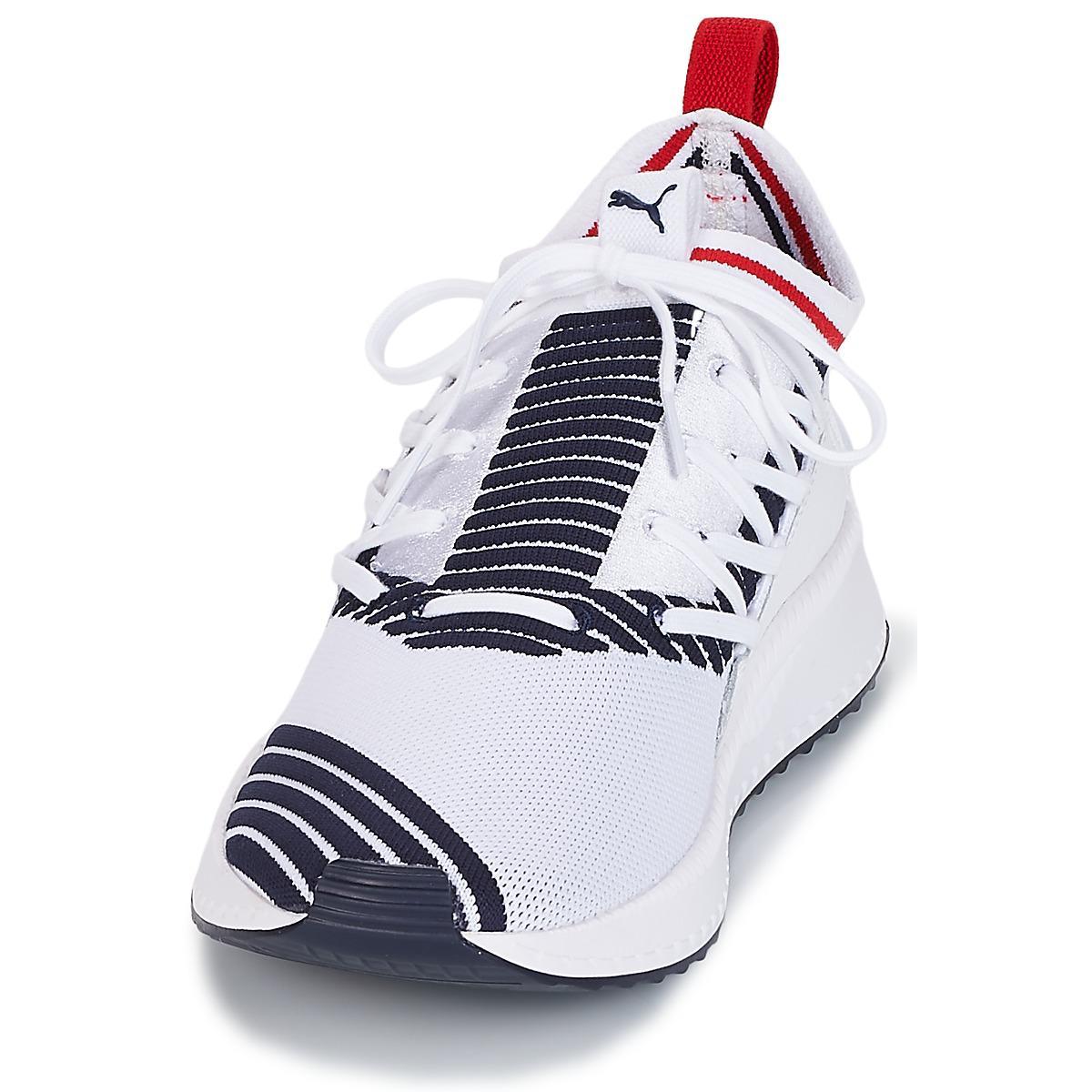 10f8fc5585f PUMA - Tsugi Jun Sport Stripe.whi Men s Shoes (trainers) In White for. View  fullscreen