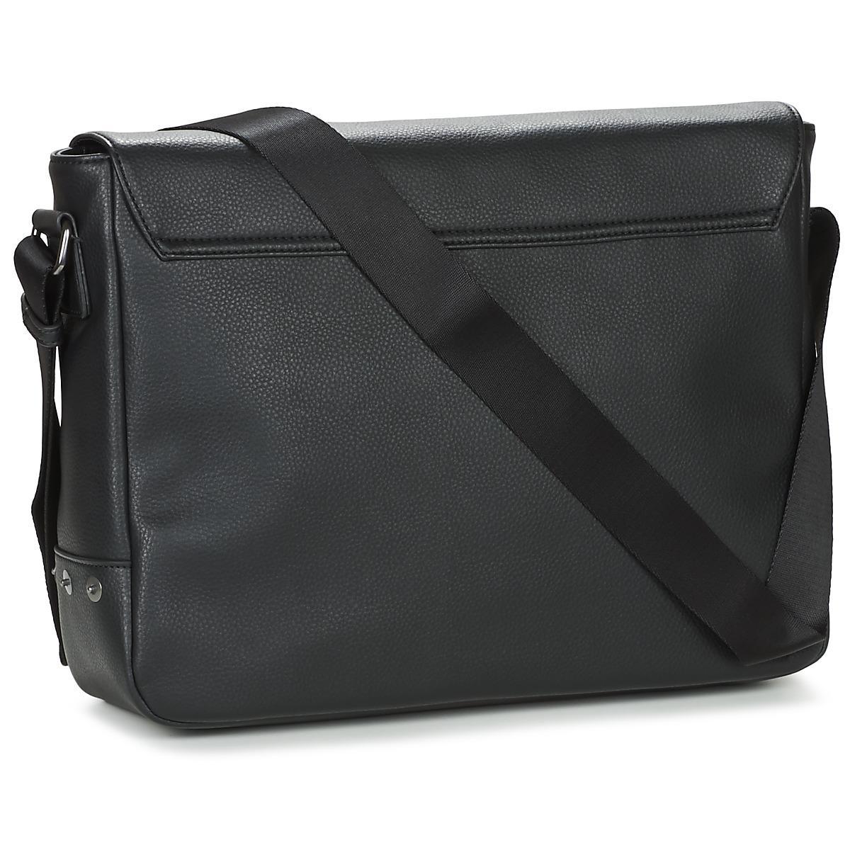 e41984a109b6 Armani Jeans Gram Men s Messenger Bag In Black in Black for Men - Lyst