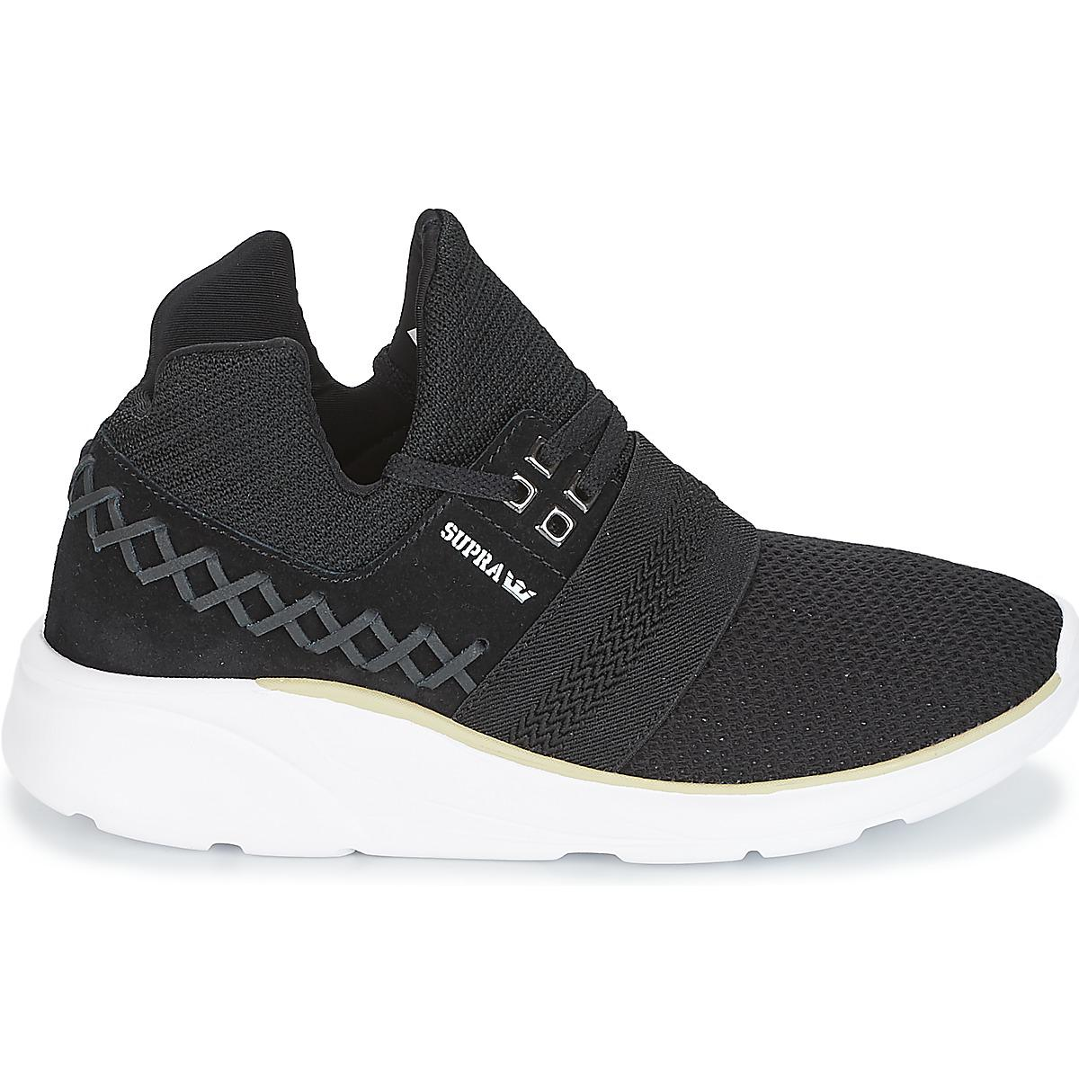 Supra - Catori Women s Shoes (high-top Trainers) In Black - Lyst. View  fullscreen 78fa7ea180