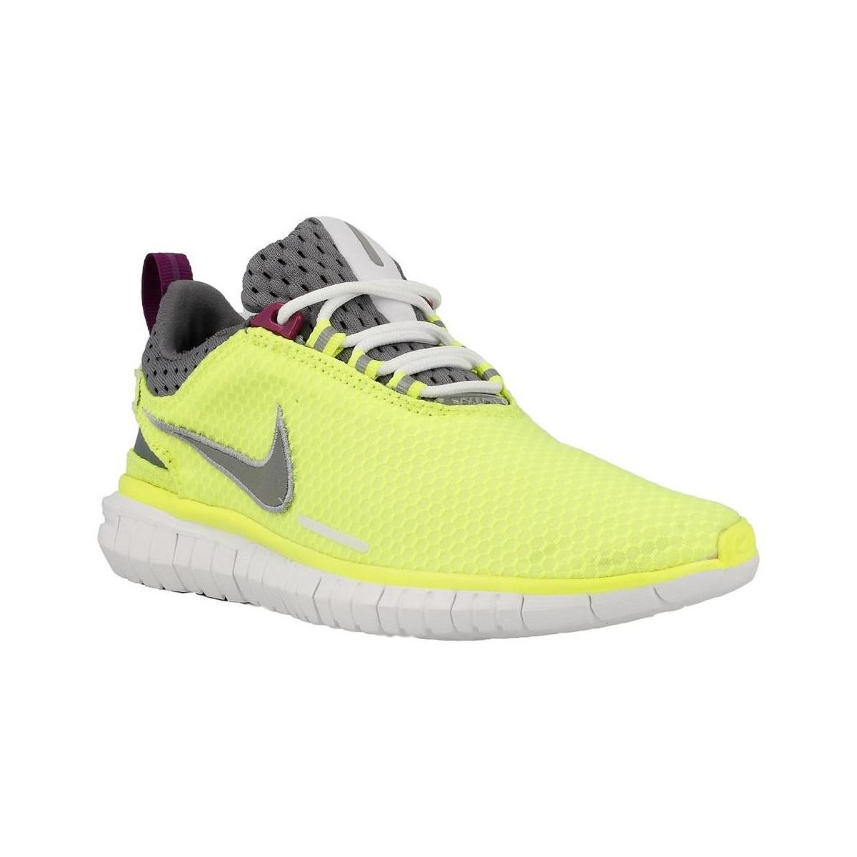 d33ec96bb45c1 ... hot nike free og 14 br womens running trainers in yellow in yellow lyst  79f73 603c3