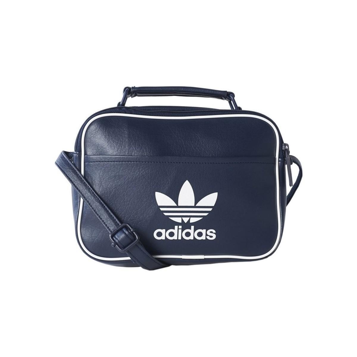 219b05c04e Adidas Originals Airliner Classic Bag Mini Women s Messenger Bag In ...