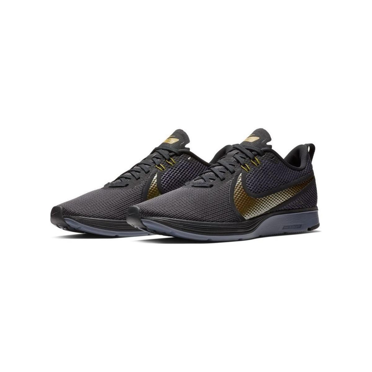 8cedc325fd5 Nike - Ao1912 Zoom Strike 2 Running Shoe Men s Shoes (trainers) In Black for.  View fullscreen