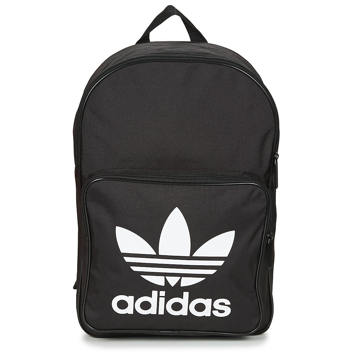 Adidas - Bp Clas Trefoil Men s Backpack In Black for Men - Lyst. View  fullscreen 0f77afd8168c0