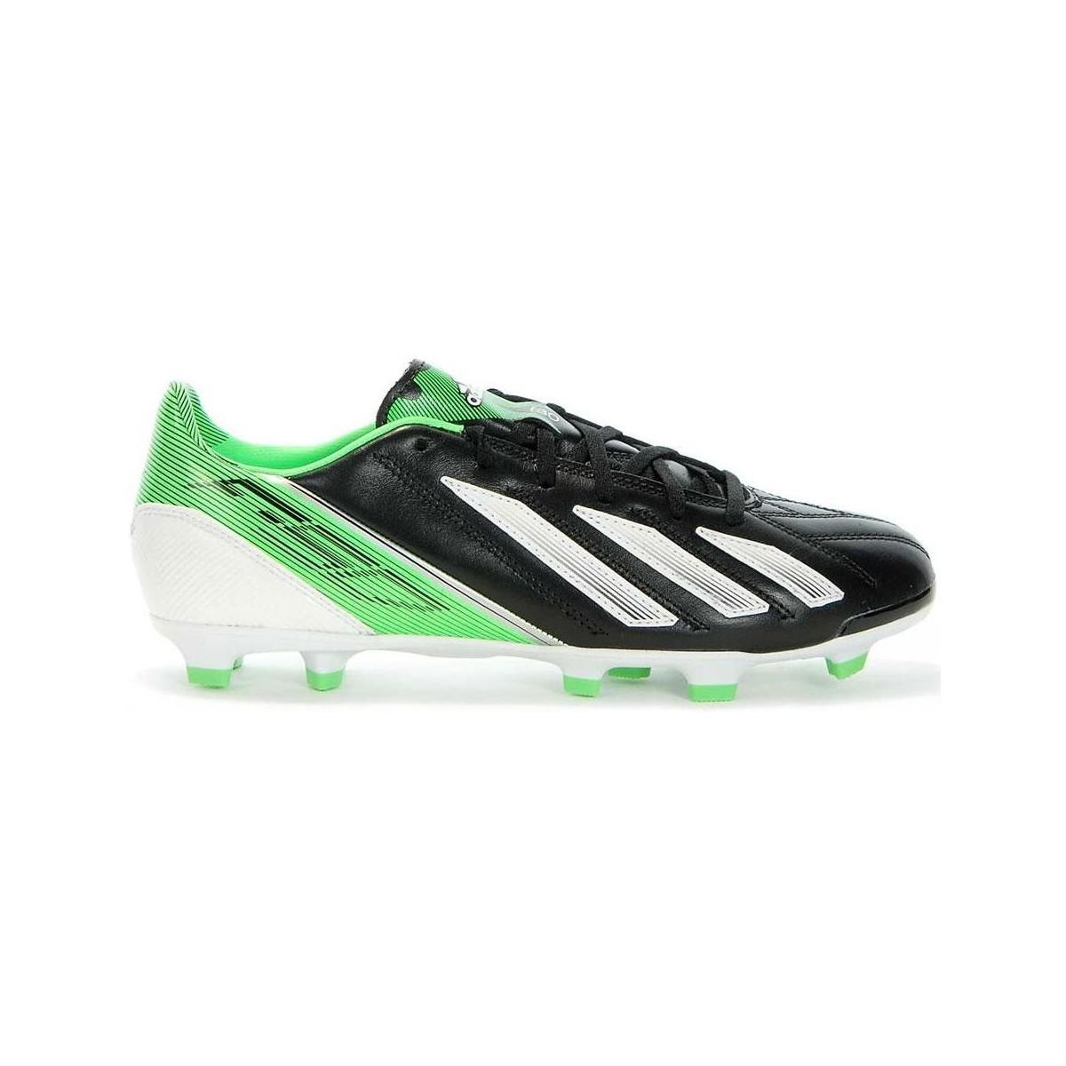 huge discount 378e4 b8498 Adidas F30 Trx Fg Lea Mens Football Boots In White in White