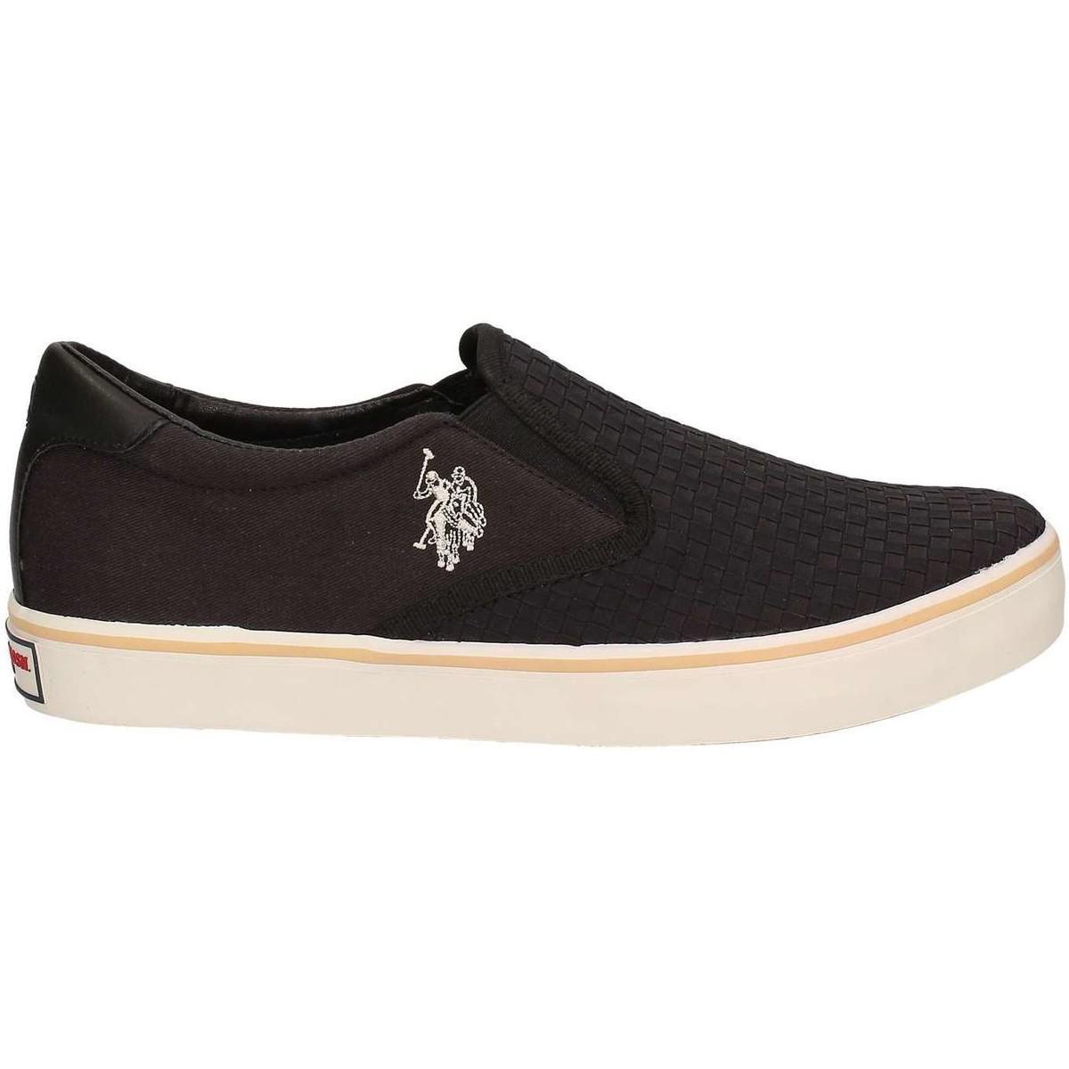 Latest U.S Polo Assn. U.S. Polo Assn. Galan4154s5/Ty2 Slip-On Black Slip On Shoes for Men Sale Online