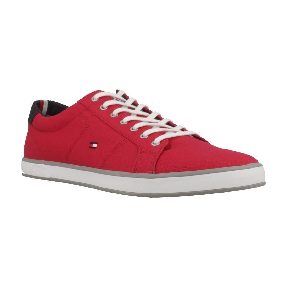 f7196a5361ff Tommy Hilfiger 78082 Women s Shoes (trainers) In Red in Red - Lyst