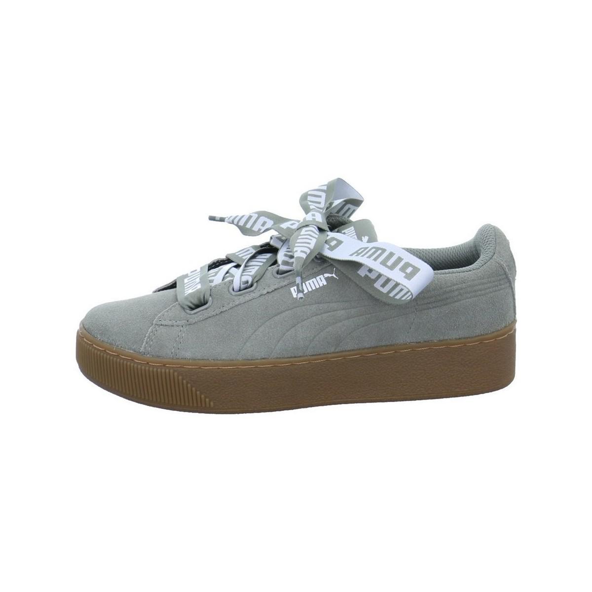 10f675d32410 Puma Vikky Platform Ribbon Men s Shoes (trainers) In Multicolour for ...