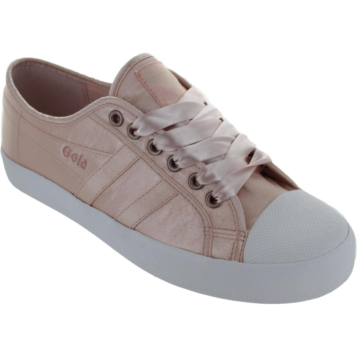 online store 51c1c 69565 gola-pink-Coaster-Satin-Womens-Shoes-trainers-In-Pink.jpeg
