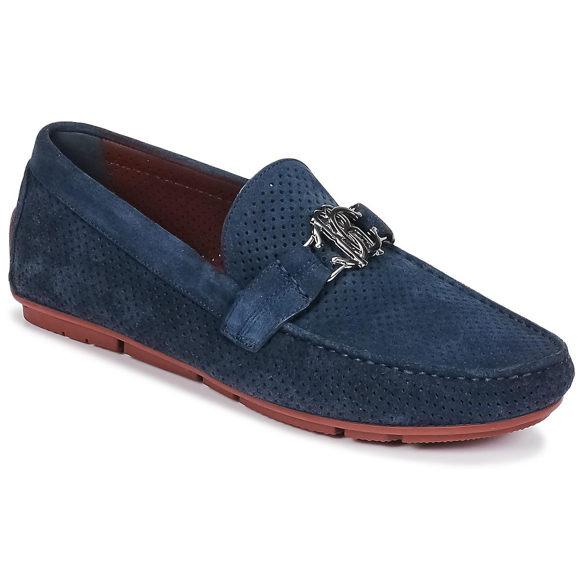 0467441a1da Roberto Cavalli 4217 Men s Loafers   Casual Shoes In Blue in Blue ...