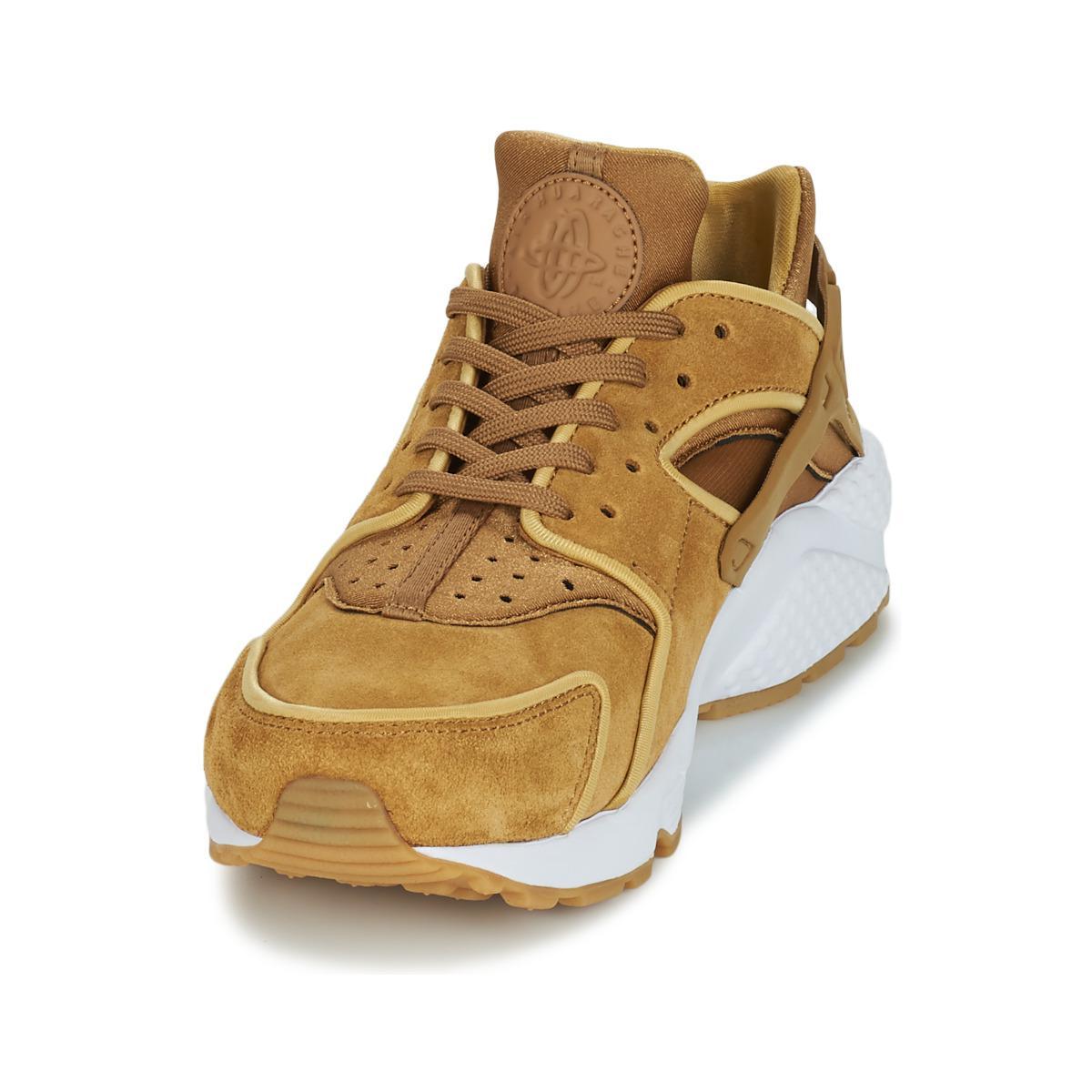 info for 136b0 de080 Nike Air Huarache Run Premium W Shoes (trainers) in Brown - Lyst