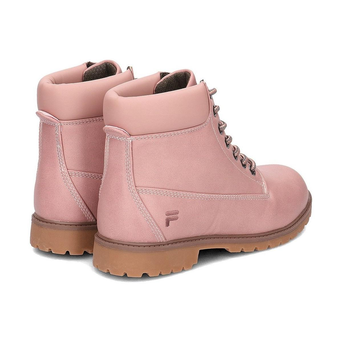 1c749474f69b Fila Maverick Mid Men s Mid Boots In Pink in Pink for Men - Lyst